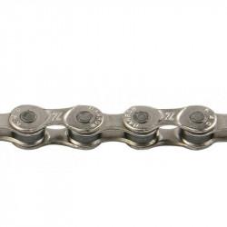 Цепь КМС Z8.3 1/2 X 3/32 116 зв. (Silver/Silver) с замком
