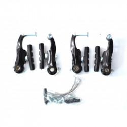 Гальма V-brake Sypo YD-V29 80мм передні та задні, чорні