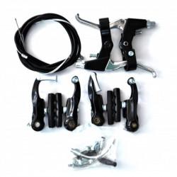 Гальма V-brake Sypo YD-V29 80мм передні та задні, чорні,...