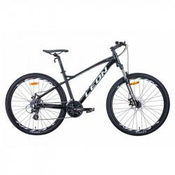 "БУ велосипед 27.5"" LEON XC-90 2020 19"" чёрно-белый с серым"