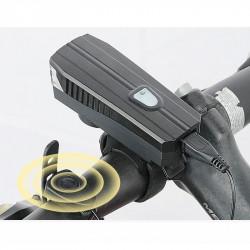 Велосипедная фара BC-FL1588 с электрозвонком