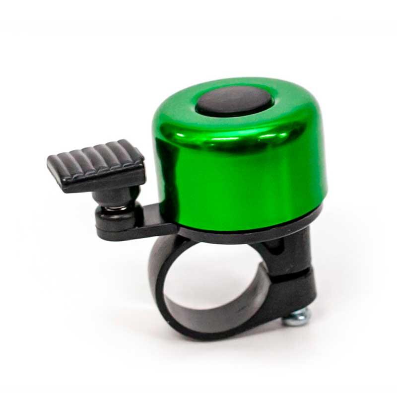 Звонок велосипедный мини зеленый BC-BB3201A
