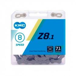 KMC Z8.1 RB 1/2x3/32/116L серая