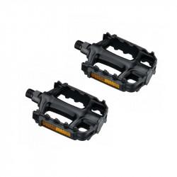 Педалі NECO WP-163 MTB пластик чорний (пара)