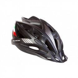 Шолом велосипедний з козирьком CIGNA WT-036 чорний L...