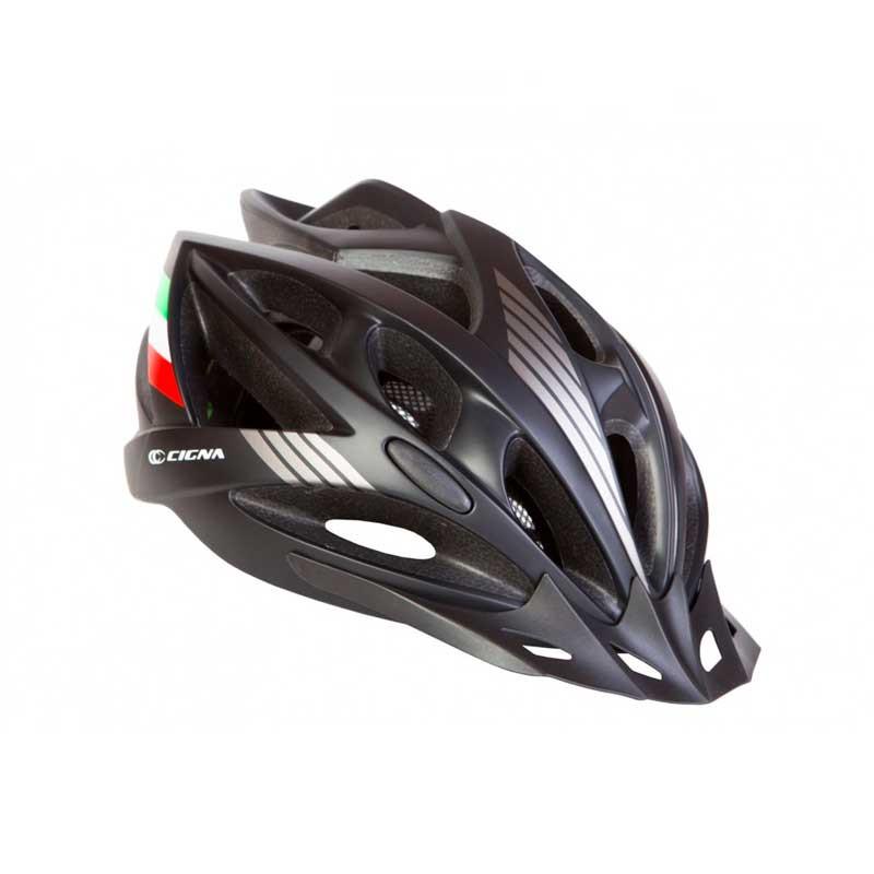 Шлем велосипедный с козырьком CIGNA WT-036