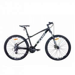 """Б/У Велосипед 27.5"""" LEON XC-90 2021 чорно-білий с сірим"""