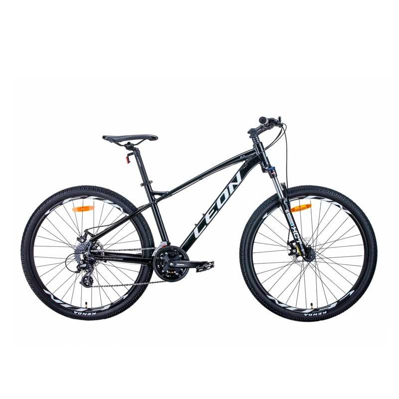 """Б/У Велосипед 27.5"""" LEON XC-90 2021 чёрно-белый c серым"""