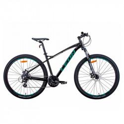 """Уживаний велосипед 29"""" LEON TN-90 2021 18"""" чорно-бірюзовий"""
