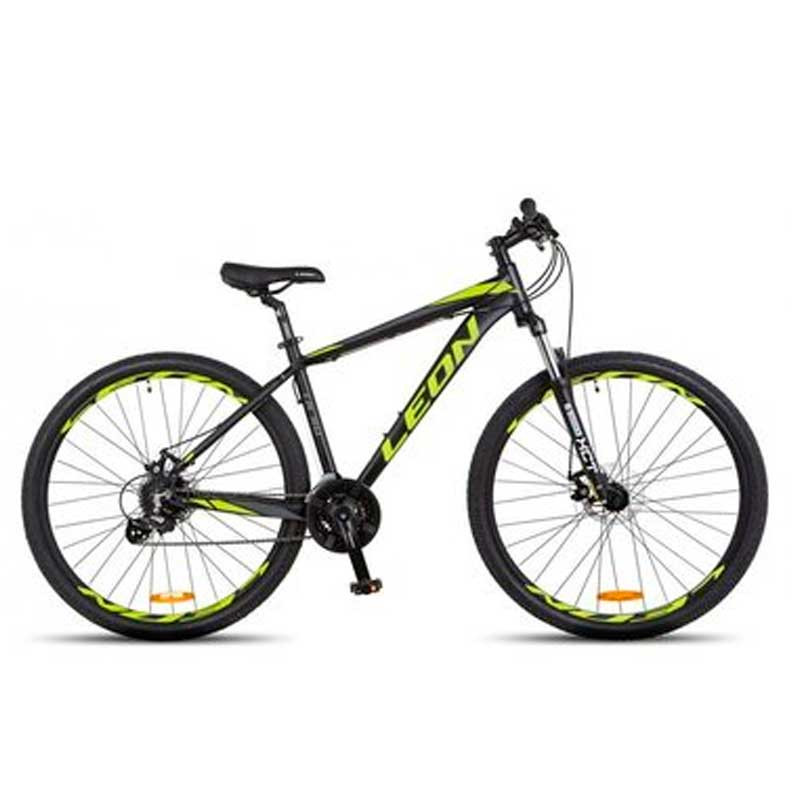 "БУ Велосипед 29"" Leon TN90 2018 20"" чёрно-салатовый"