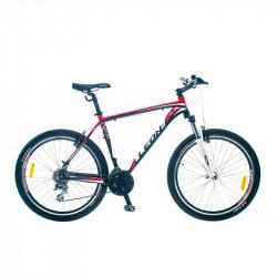 """Уживаний велосипед Leon XC85 2014 чорно-червоний 20"""""""
