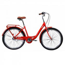 """БУ велосипед 26"""" DOROZHNIK RUBY ПЛАНЕТ. 2021 КРАСНЫЙ, OPS-D-26-148"""