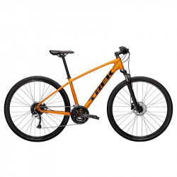 БУ велосипед Trek 2021 DUAL SPORT 3 L оранжевый