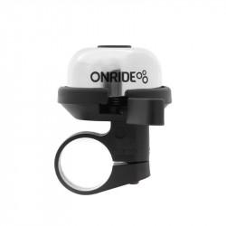 Дзвоник ONRIDE Sound хомут 22.2 мм сріблястий