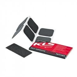 Набор самоклеющихся заплаток KLS 6 квадратных штук