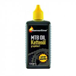 Мастило для ланцюга Hanseline MTB-Oil, 125мл (графитная)