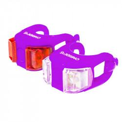 Мигалка Onride силиконовая Dual (фиолетовая)