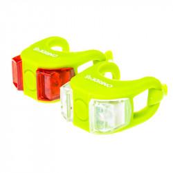 Мигалка Onride силиконовая Dual (зеленая)