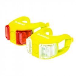 Мигалка Onride силиконовая Dual (жёлтая)