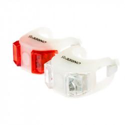 Мигалка Onride силиконовая Dual (белая)