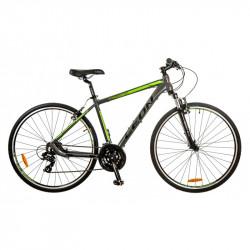 Уживаний велосипед Leon HD85 2017 сіро-зелений 19 (606)