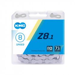 Ланцюг KMC Z8.1 RB 1/2х3/32/116L сіра (нова назва моделі...
