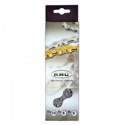 Ланцюг KMC X9 1 / 2х11 / 128х116L сріб / сріб, 9шв.