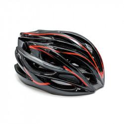Шолом велосипедний FSK AH404 чорно-червоний (56-63 см)