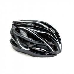 Шлем велосипедный FSK AH404 черно-белый (56-63 см)