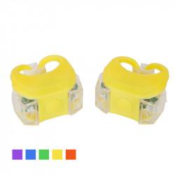 Мигалка 2шт BC-RL8002 свет LED силиконовый